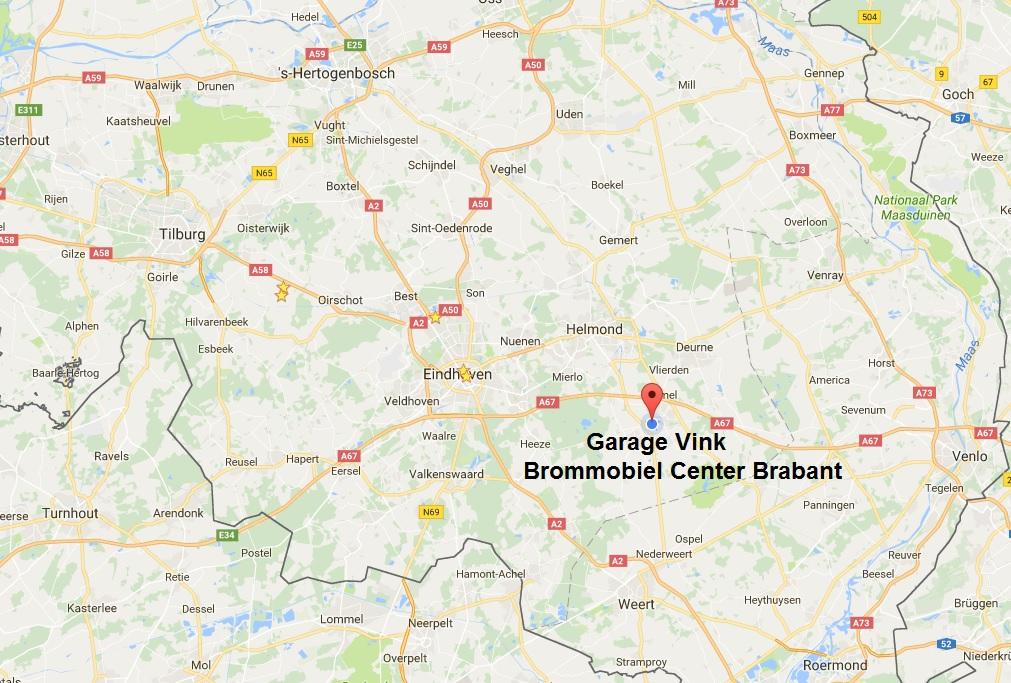 Garage Vink Brommobiel Center Brabant
