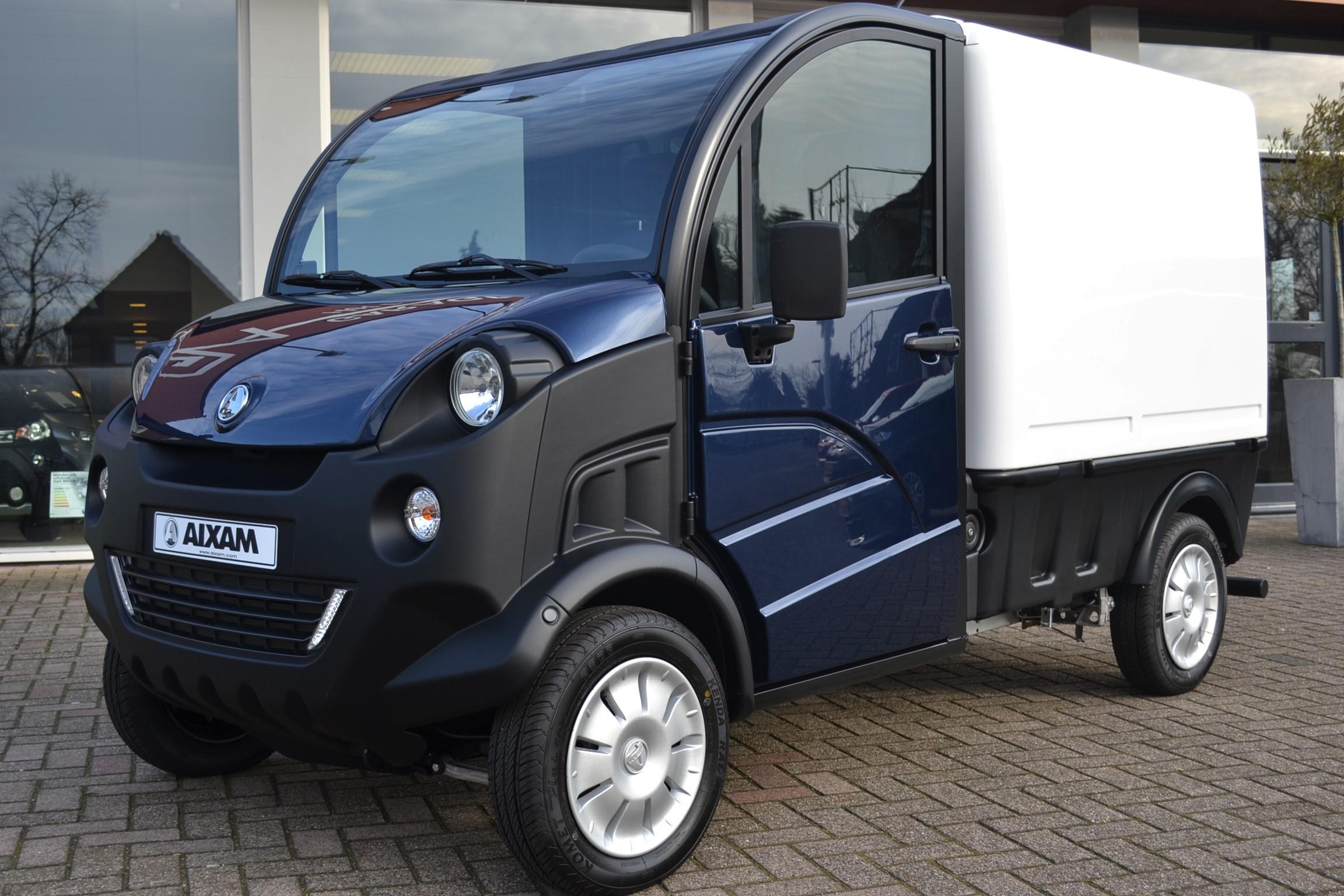 aixam mega pro d truck van brommobiel brommobiel center. Black Bedroom Furniture Sets. Home Design Ideas