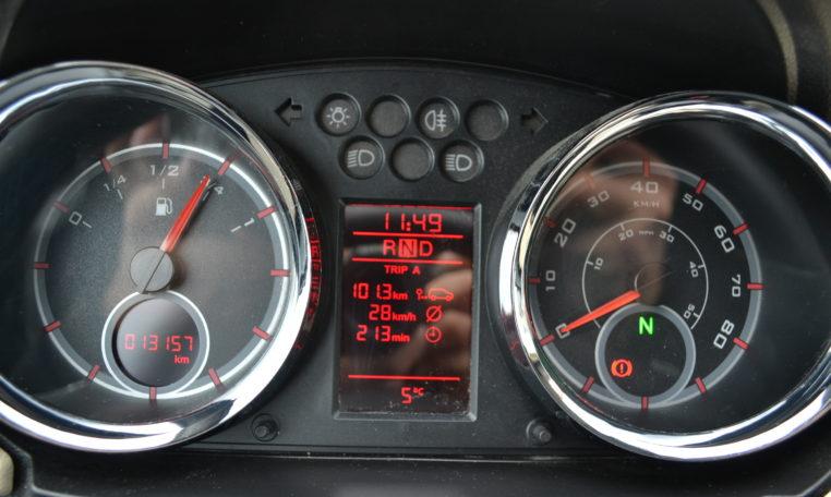 Grote 45 km auto