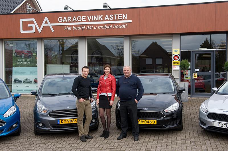 v.l.n.r. Christian, Arina en Chris Vink