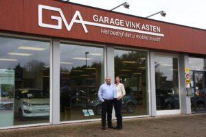 Arina & Chris Vink voor het bedrijf dat u mobiel houdt